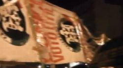 Militanti CasaPound al comizio di Grillo:
