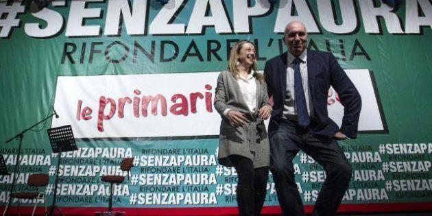 Dal Centrodestra nazionale ai Fratelli d'Italia: Giorgia Meloni e Guido Crosetto vicini a Ignazio La