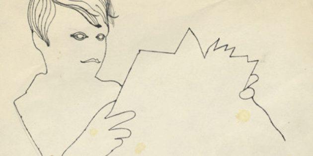 Andy Warhol: i disegni inediti dell'artista