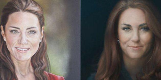 Kate: il ritratto alternativo della duchessa di Cambridge in vendita per beneficenza