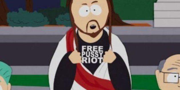 Free Pussy Riot: Gesù indossa la maglietta in un episodio di South Park