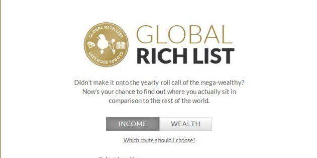 Globalrichlist, ecco il sito che vi farà sembrare ricchi. Confrontate il vostro stipendio con quelli...