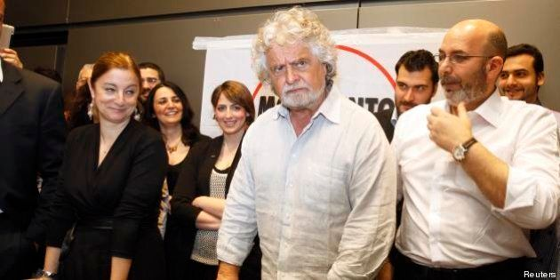 Contestazione a Dario Franceschini, Beppe Grillo sul blog: