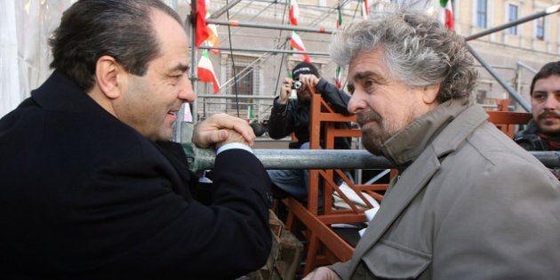 Nasce l'asse Grillo-Di Pietro. E dentro l'Idv cresce la protesta. Belisario: cambieremo leader, Tonino...