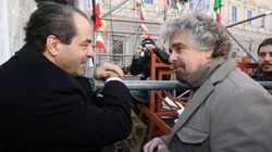Nasce l'asse Grillo-Di Pietro. E dentro l'Idv cresce la protesta. Belisario: cambieremo leader, Tonino padre