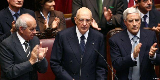 Quirinale: Giorgio Napolitano, il discorso di insediamento del 2006 (DOCUMENTO,