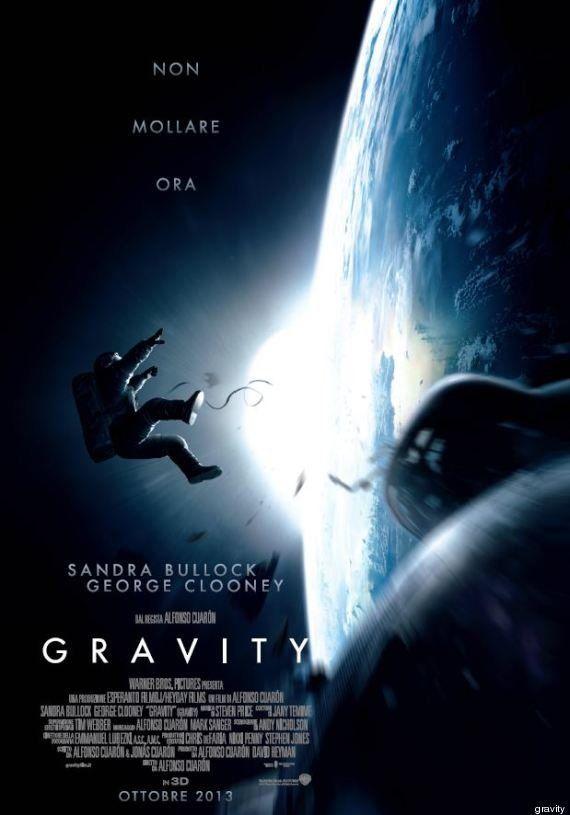 Cinema: Gravity, trailer in italiano, George Clooney e Sandra Bullock persi nell'immensità dello spazio
