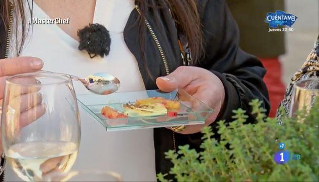 Jordi Cruz obliga a cancelar uno de los platos de 'Masterchef' (TVE) por un posible riesgo