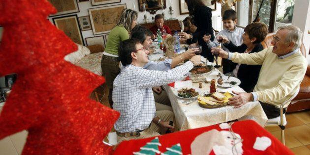Natale, per la Cia ogni famiglia pagherà in media 141 euro per pranzi e cene delle feste