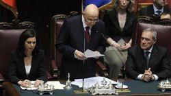 Insediamento Giorgio Napolitano, il discorso integrale del