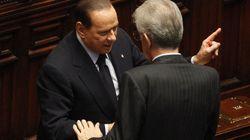 Mario Monti prima in conferenza stampa, poi a In Mezz'ora, Silvio Berlusconi a Domenica In poi in conferenza stampa, Massimo...