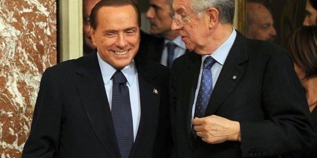 Elezioni 2013, Silvio Berlusconi e Mario Monti si sfidano a distanza domenica in