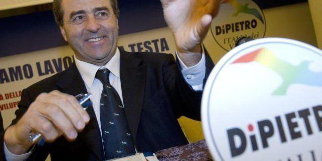Report, Di Pietro sul suo blog: