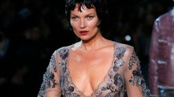 Vuitton seduce con Kate Moss in lingerie, Miu Miu frivola