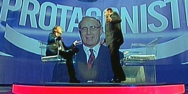 Silvio Berlusconi ospite a L'Arena. Lo Show con Giletti: