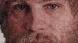 I ritratti di Cayce Zavaglia: i volti disegnati con ago e filo (FOTO,