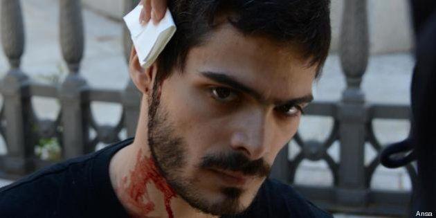 Pisa, all'università studenti manifestano contro Giuliano Amato. C'è un ferito