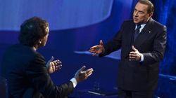 Silvio Berlusconi spiazzato da Mario Monti. Quattro interviste e una scenaggiata a Domenica In per