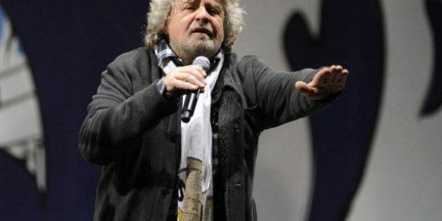 Sondaggio: Beppe Grillo sale quasi al 29% e supera il
