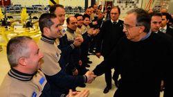Marchionne a Grugliasco accolto tra gli applausi della Fiom