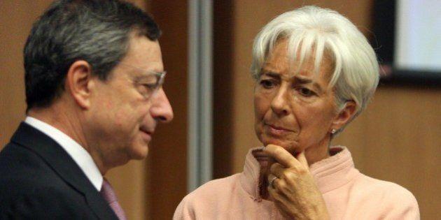 Per Mario Draghi la recessione è finita, ma la disoccupazione frena la ripresa. Ed scontro Bce-Fmi sull'acquisto...