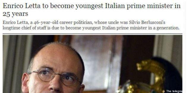 Enrico Letta Premier: la notizia sui giornali stranieri