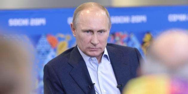 Olimpiadi Sochi, Vladimir Putin ai gay: