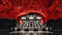 Stoccolma, il metrò delle meraviglie