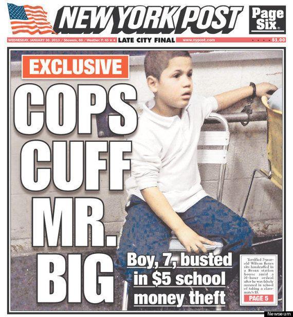 New York, bambino ruba 5 dollari e viene interrogato per dieci ore dalla