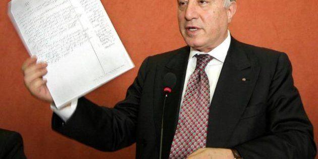 Elezioni 2013, endorsement di Marcello Dell'Utri al procuratore Pietro Grasso: