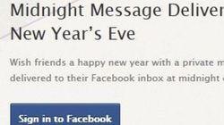 Buon anno! Basta un'applicazione e gli auguri su Facebook partono in