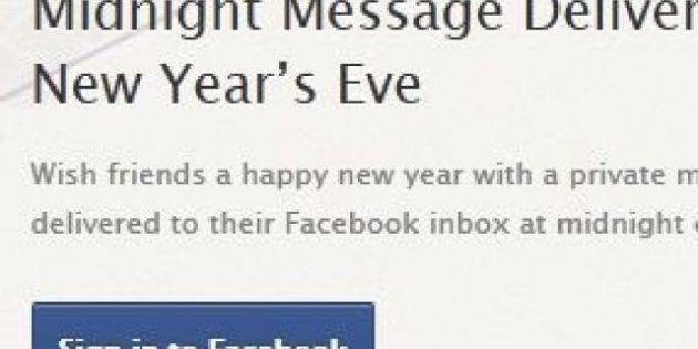 Capodanno, Facebook lancia l'applicazione per fare gli auguri automaticamente allo scoccare della