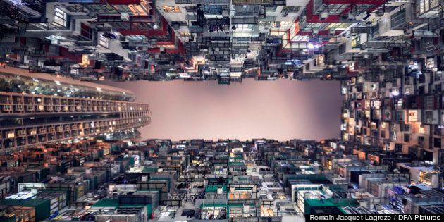 Grattacieli che sfidano la gravità: gli scatti inquietanti di Romain Jacquet-Lagrèze
