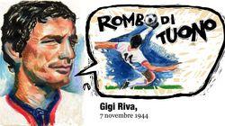 Gigi Riva. 7 novembre
