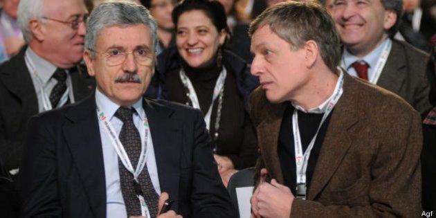 Pd: Massimo D'Alema per Gianni Cuperlo