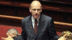 Enrico Letta interviene al Senato
