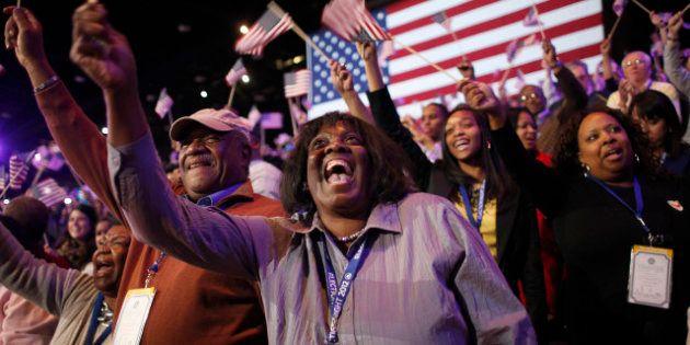 Obama rieletto: i festeggiamenti a New York, Chicago e nelle roccaforti democratiche