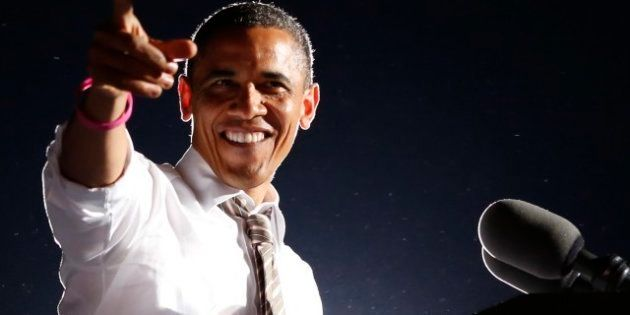 La lunga notte di Barack: