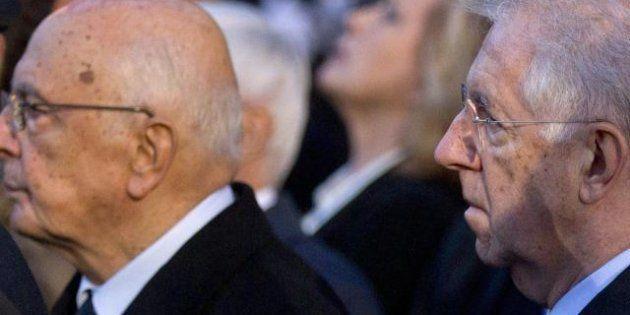 Napolitano e Monti plaudono al bis di Obama: Si potrà continuare a collaborare contro la