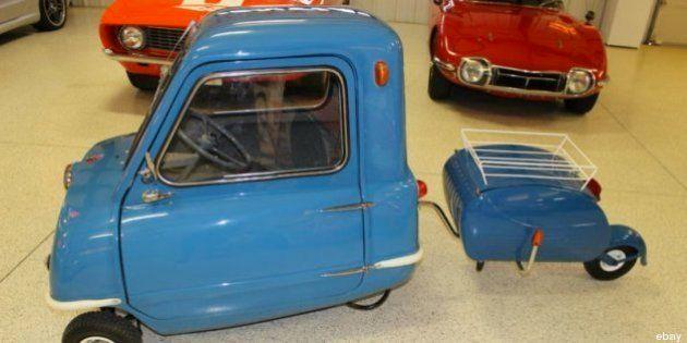 L'auto più piccola del mondo vale 26 mila dollari