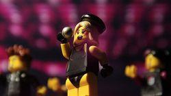 Lego Gaga, l'omaggio dei fan alla star del