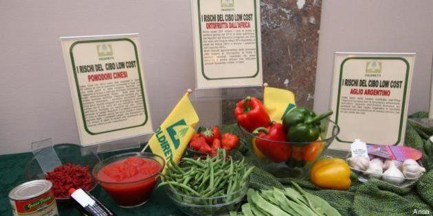 Alimentare: il cibo low cost è una trappola. Il rapporto Coldiretti allarma la Ue