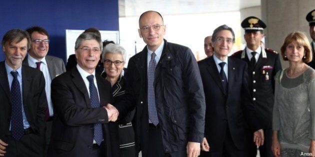 Terremoto Emilia, Enrico Letta: