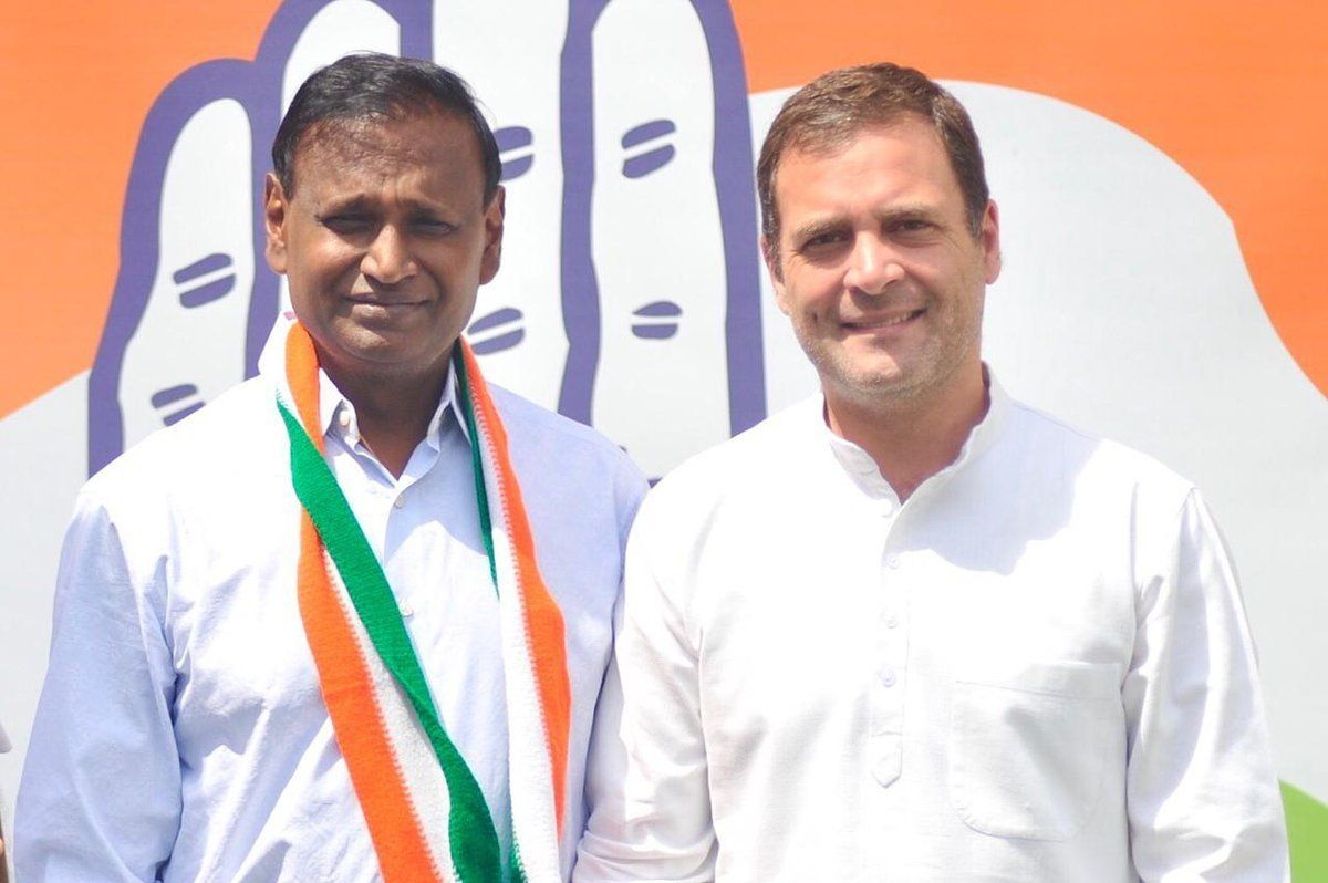 Udit Raj, Dropped From BJP's Candidate List, Joins