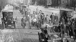 Cent'anni fa quella marcia per il voto...