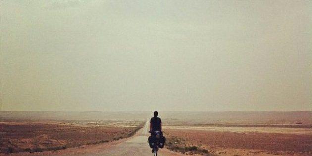 Il giro del mondo in bicicletta del fotografo Rob Lutter