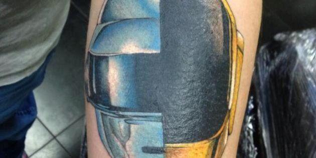 Tatuaggi: Daft Punk, Beatles, Lady Gaga. Il rock scolpito sulla pelle
