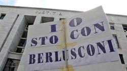 In piazza contro i giudici di Milano e contro il