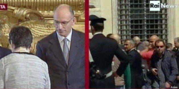Sparatoria A Palazzo Chigi Mentre Il Governo Giura