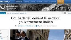 Sparatoria P.Chigi, da Le Monde a Wsj e Argentina notizia in apertura
